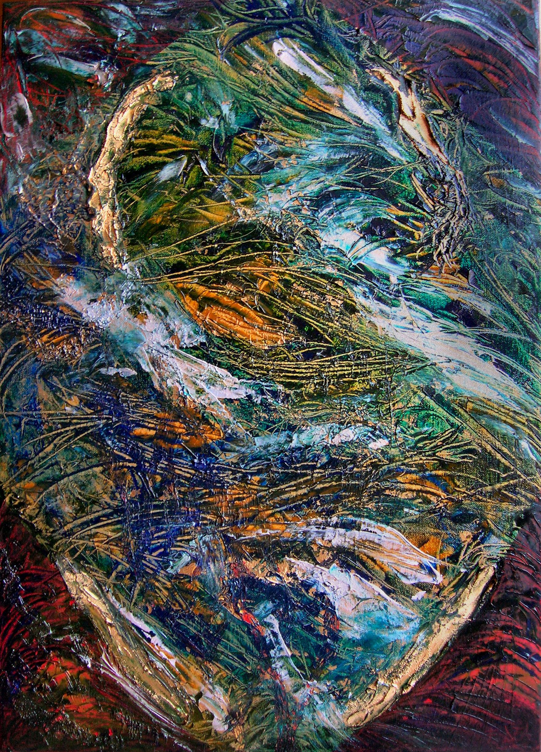 Il Sogno del Drago, quadro di Francesco Dea