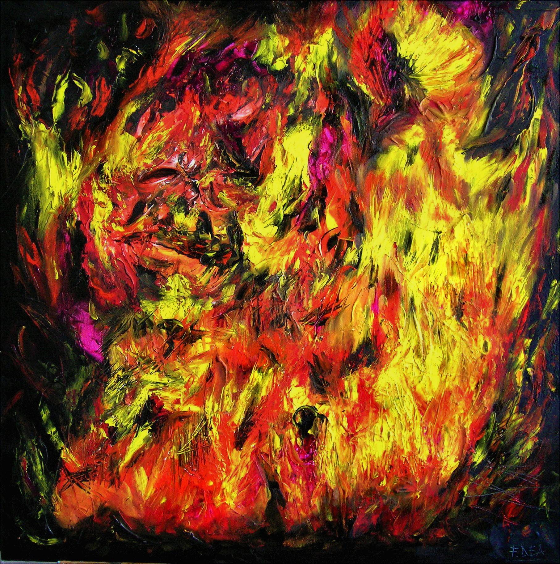 Quadro di Francesco Dea Fire