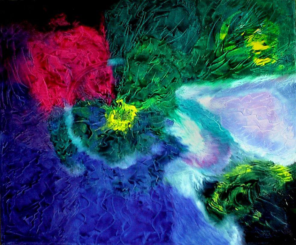 Francesco Dea, olio su tela: Tempo